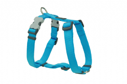 Red Dingo Dog Harness Classic Turquoise blue